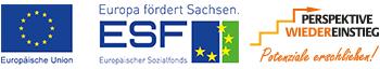 Logos ESF und PWE